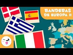 Las banderas de Europa II