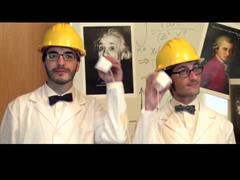 Experimento del teléfono  de yogures: propagación del sonido (Educaixa)