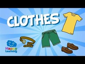 Clothes Vocabulary: English for Beginners (part 1)