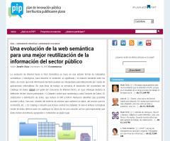 Una evolución de la web semántica para una mejor reutilización de la información del sector público