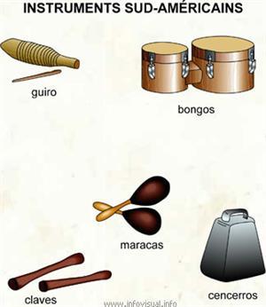 Instruments sud-américains (Dictionnaire Visuel)