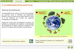 Sistema de clasificación de los seres vivos