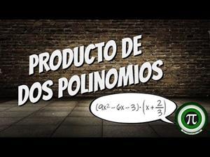 Producto de dos polinomios