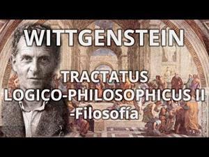 Wittgestein. Tractatus logico-philosophicus II