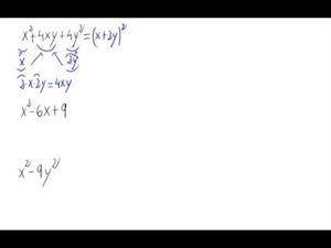 Factorización de polinomios e igualdades notables