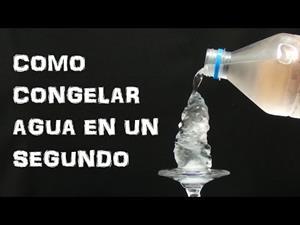 Experimentos Caseros para Niños: Convertir Agua en Hielo en Segundos