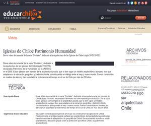 Iglesias de Chiloé Patrimonio Humanidad (Educarchile)