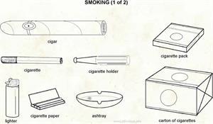 Smoking  (Visual Dictionary)