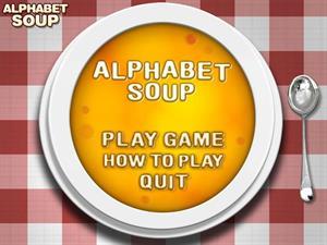Alphabet Soup ¿cómo andas de vocabulario en inglés?