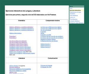Materiales de Lengua y Literatura para la ESO