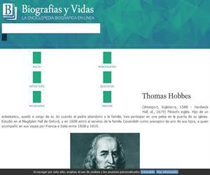 Biografia de Thomas Hobbes / en Vidas y Biografías