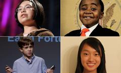 4 inspiring kids imagine the future of learning | TEDTalks