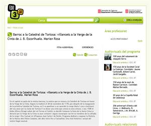 Barroc a la Catedral de Tortosa: villancets a la Verge de la Cinta de J. B. Escorihuela. Marian Rosa (Edu3.cat)