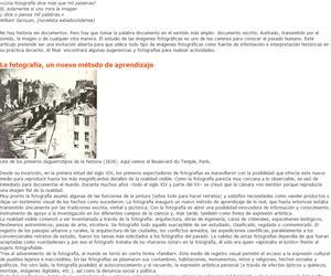 La fotografía como documento histórico