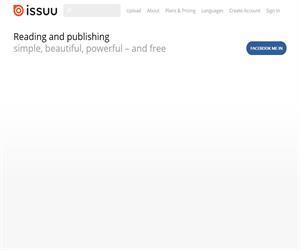 Issuu, convierte pdf en revistas virtuales