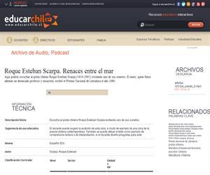 Roque Esteban Scarpa. Renaces entre el mar (Educarchile)