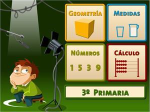 Juegos, números... ¡Acción! (3º de Primaria)