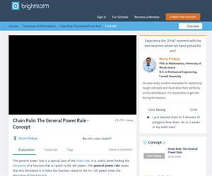 General Power Rule