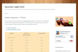 Verbos Irregulares III (aprenderinglesfacil)