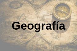 Geografía. EvAU 2019