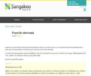 Función derivada (sangakoo)