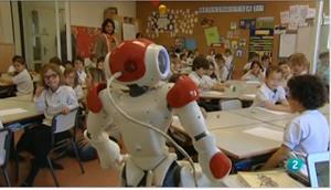 Debate: La robótica en la educación. Para todos. La 2 (TVE)