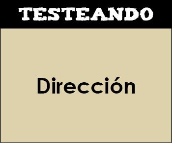Dirección. 2º Bachillerato - Economía de la empresa (Testeando)