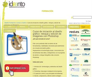 Curso de iniciación al diseño gráfico: retoque y edición de imágenes con Photoshop | Ideanto Formación