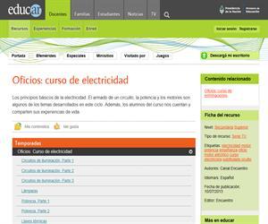 Oficios: Curso de electricidad