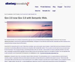 Gov 2.0 now Gov 3.0 with Semantic Web (BubbleIdeas)