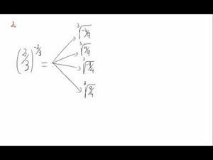 Potencias y exponente fraccionario y negativo - Cuestión 2