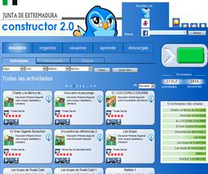 Constructor : para crear recursos educativos digitales