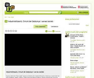 Industrialització, Circuit de Catalunya i xarxes socials (Edu3.cat)