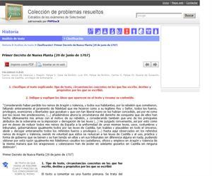 Primer Decreto de Nueva Planta (29 de junio de 1707). (Selectividad.tv)