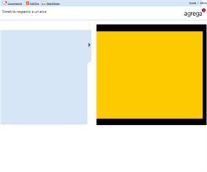 Simetría respecto a un eixe (Proyecto Agrega)