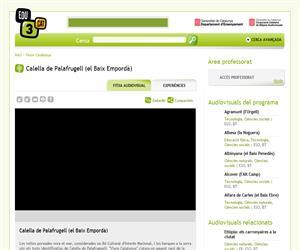 Calella de Palafrugell (el Baix Empordà) (Edu3.cat)