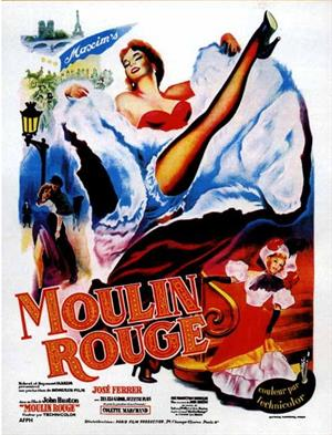 Mouling Rouge de John Huston (1952)