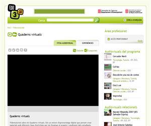Quaderns virtuals (Edu3.cat)