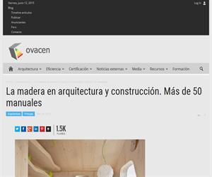 La madera en la arquitectura moderna.