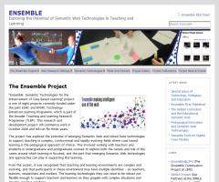 Ensemble Project:  Semantic Technologies for the Enhancement of Case Based Learning