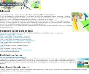 Especiales educ.ar: Inicio de clases