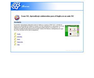 Team TIC. Aprendizaje colaborativo para el Inglés en un aula TIC