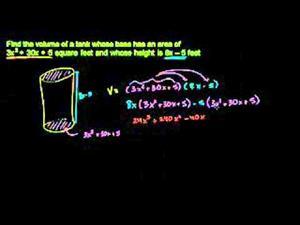 Multiplicación de polinomios  - Parte 3 (Khan Academy Español)