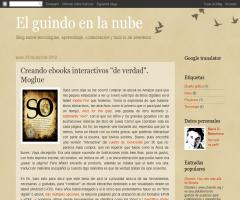 Creación de ebooks interactivos para tablets. Moglue