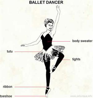Ballet dancer  (Visual Dictionary)