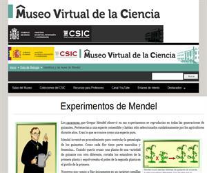 Experimentos de Mendel