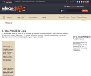 El atlas virtual de Chile (Educarchile)