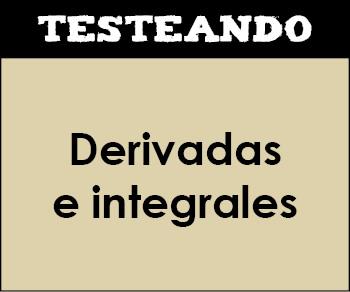 Derivadas e integrales. 2º Bachillerato - Matemáticas (Testeando)