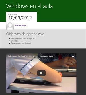 Windows in the Classroom