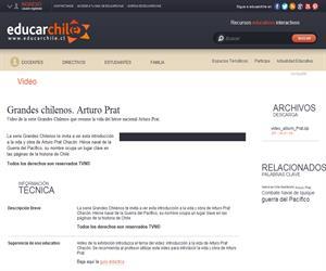 Grandes chilenos. Arturo Prat (Educarchile)